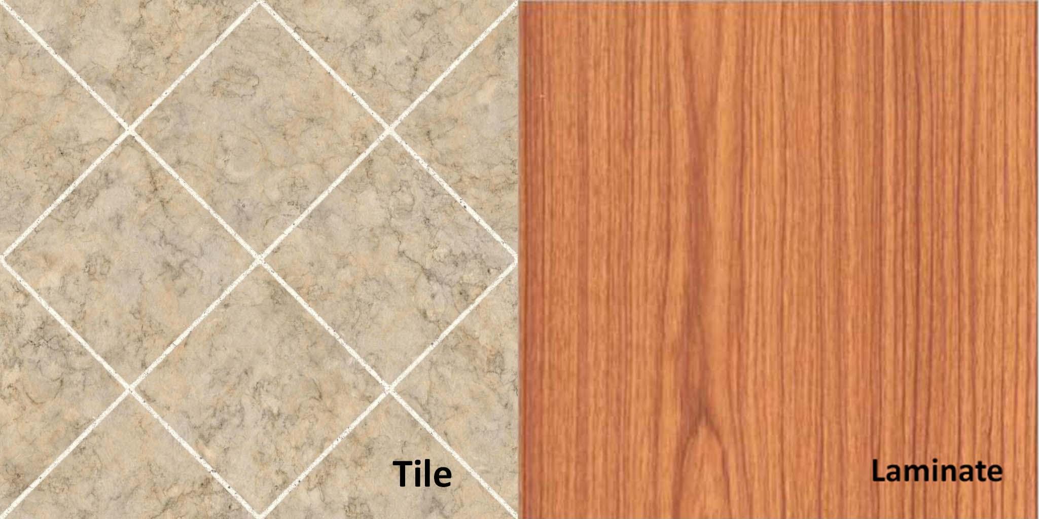 Tile vs laminate flooring