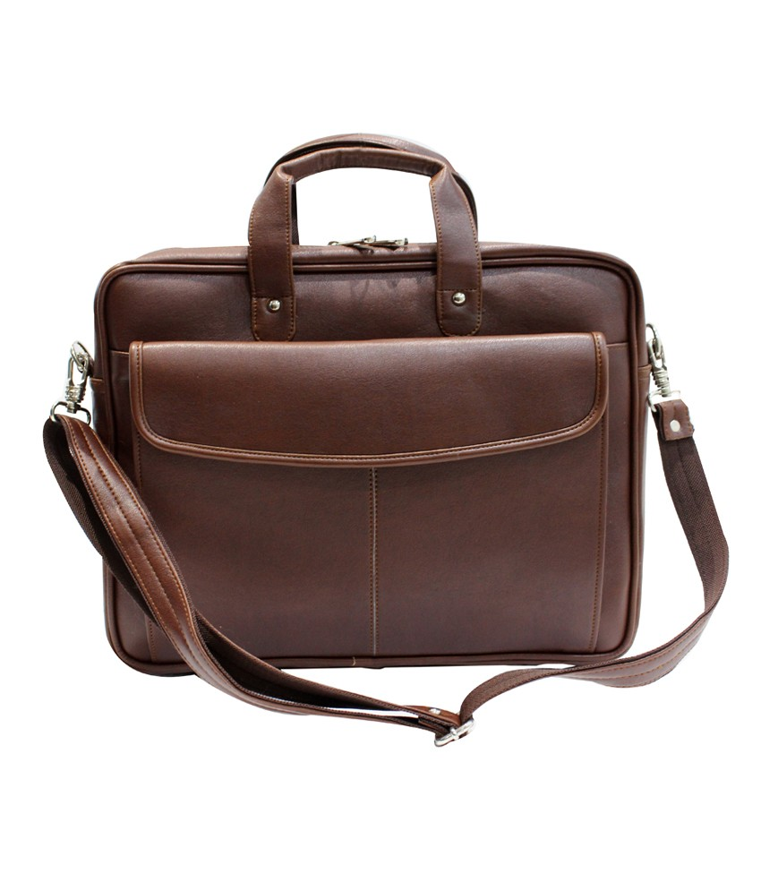 clithscom1 American-elm Genuine Leather Messenger Laptop Bag-16x12x3.5 Inch