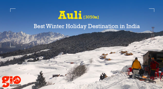 Auli - Best winter destination