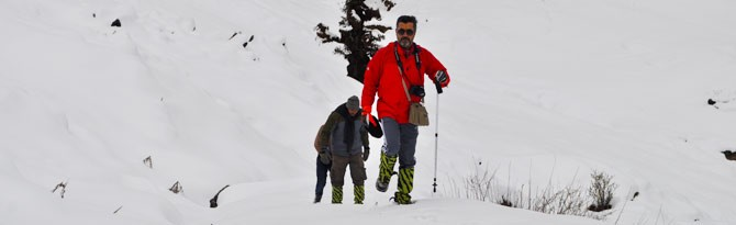 Best Snow Trek Chopta