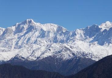 Kedar Peak from Chopta