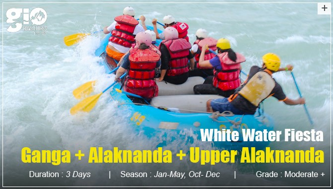 Rafting Expedition Ganga - Alaknanda - Upper Alaknanda - Uttarakhand