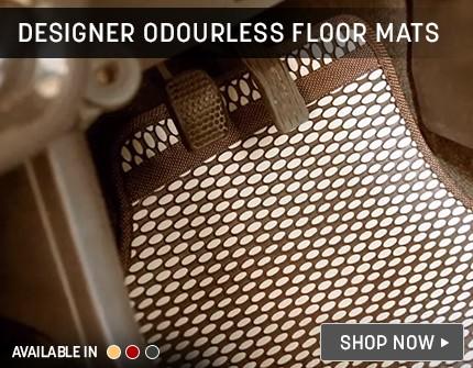 Designer Odouless Floormats Banner