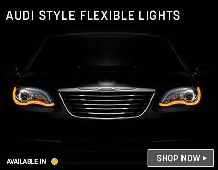 Audi Style Lights Banner