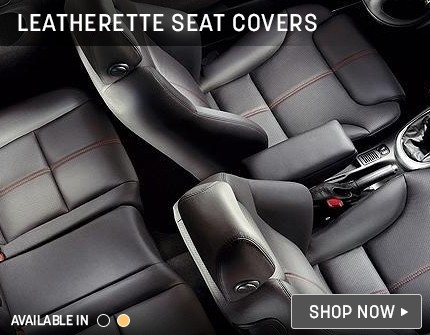 Leathertte Seat Cover Banner