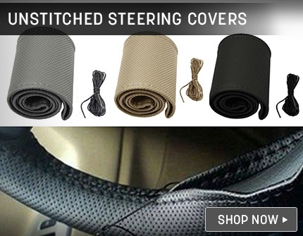 Steering Covers Banner