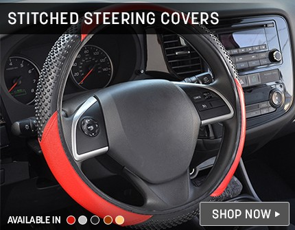 Designer Steering Covers Banner