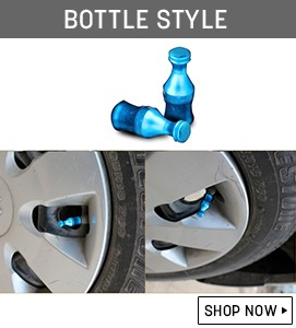 Rocket Style Tyre Valve Banner