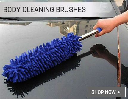 Body cleaning brushes