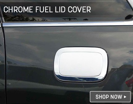 Chrome Mirror Covers Banner