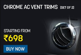 chrome ac vent trims