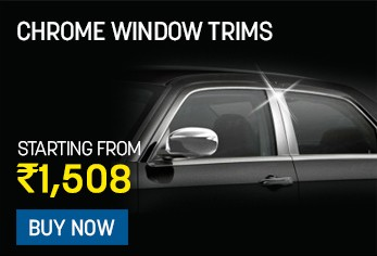 chrome window trims