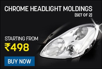 chrome headlight moldings