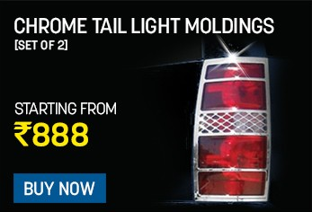 chrome tail light moldings