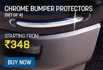 chrome bumper protectors