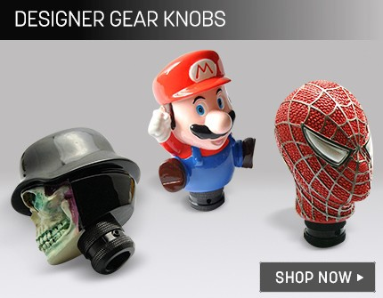 Leatherette Gear Knobs Banner