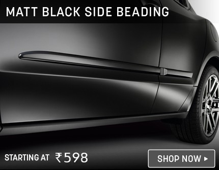 Matt Black Side Beading
