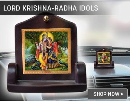 Krishna Idol Banner