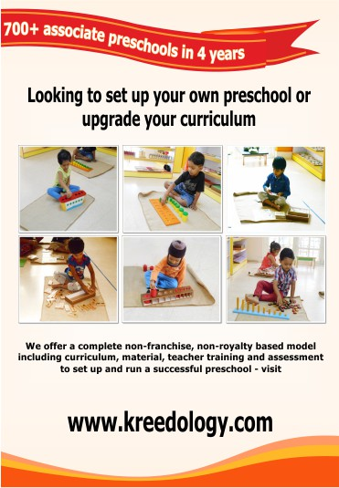 Kreedo Preschool Solution