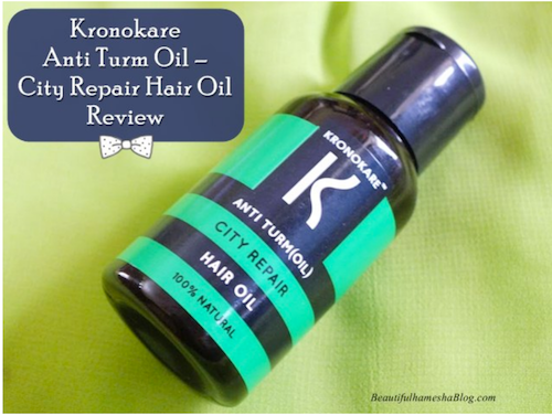 review-anti turm oil-city repair-hair oil- beautiful hamesha blog