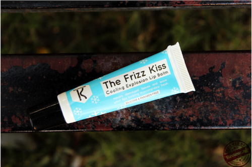review-the frizz kiss lipbalm-review wali