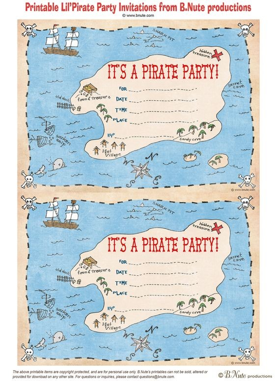 Read our blog on how to make your Treasure Hunt Party – Treasure Hunt Party Invitations
