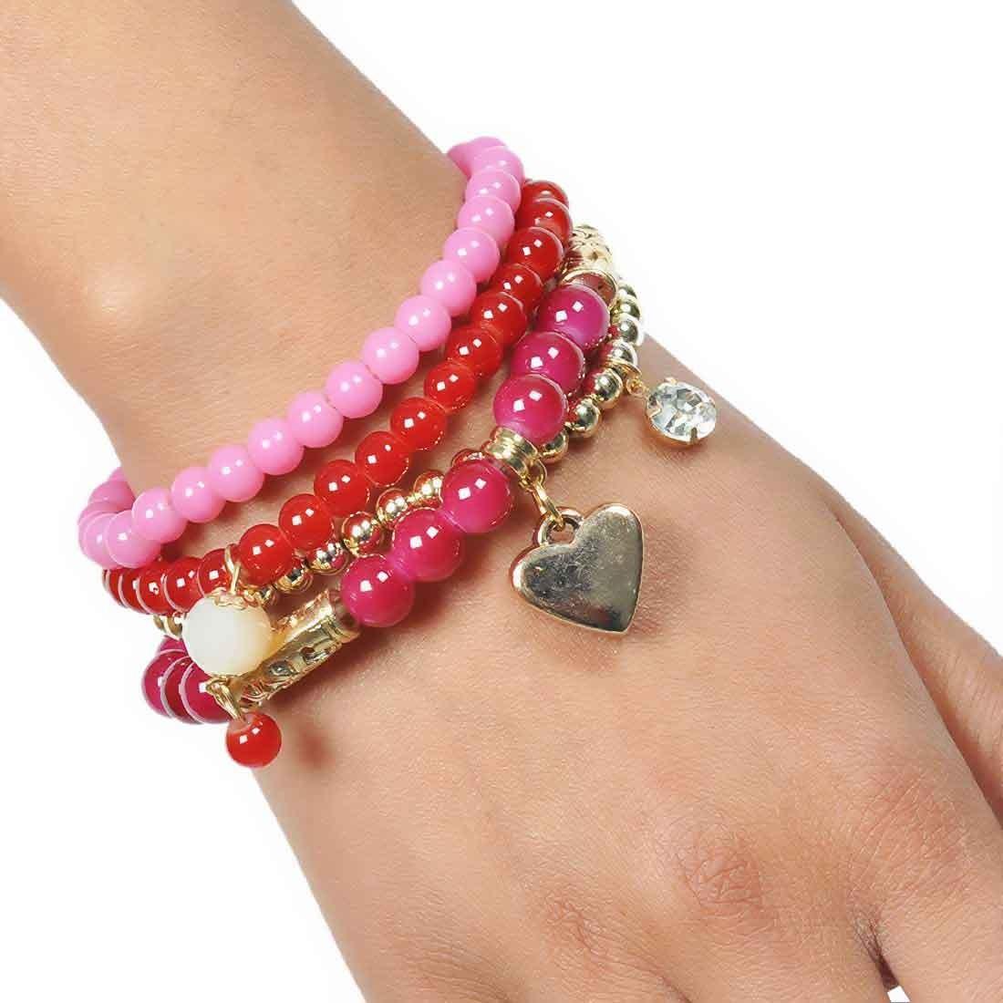 Charming Multicolor Designer Adjustable Dailywear Bracelet Alloy Maayra MY6854