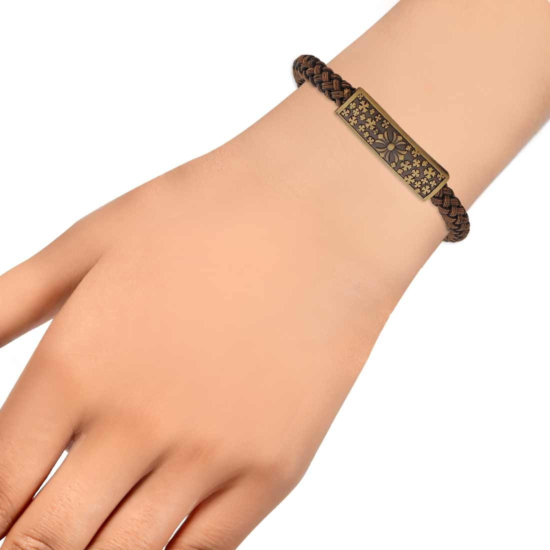 Fab Multicolor Designer Adjustable Get-together Bracelet Alloy Maayra MY6930