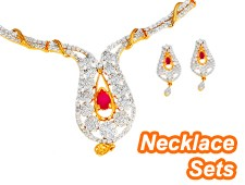 Designer necklace set for parties