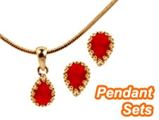 Pendants set for function parties