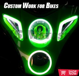 projector headlights bikes