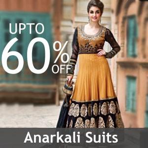 Anarkali suits online shopping cash on delivery