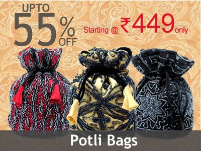 Potli bags online shopping cash on delivery