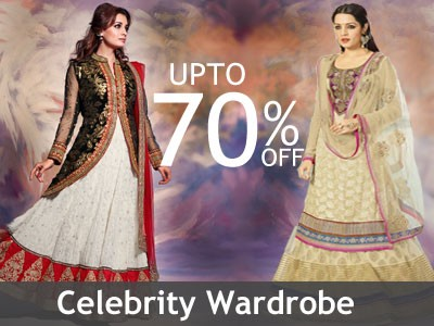 Indian Celebrity actress wardeobe collection online shopping