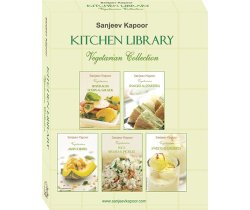 Sanjeev Kapoor Kitchen Library Vegetarian Collection