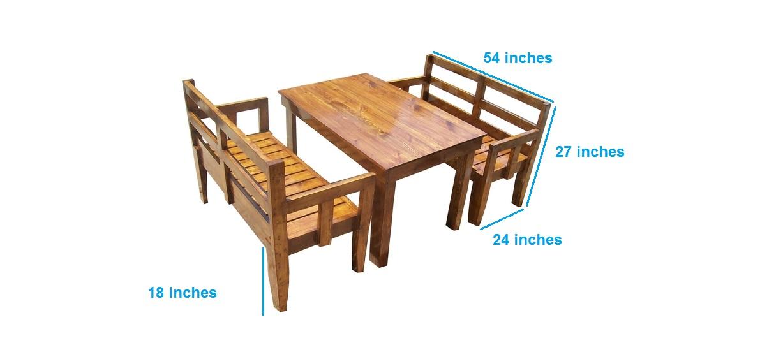 Etilon- Dining Bench