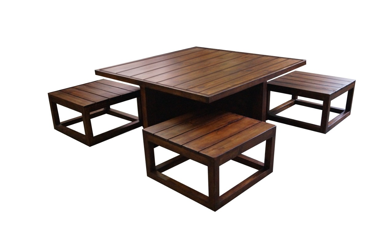 buy plus space saving coffee table set best prices in india kraftly may 2018. Black Bedroom Furniture Sets. Home Design Ideas
