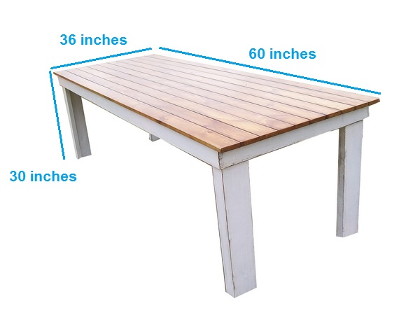 Breach-A distressed Table