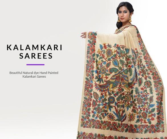Kalamkari Sarees