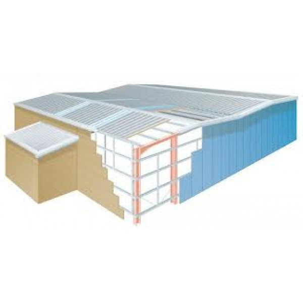 Colorclad Commercial Industrial Roofing Roofing Sheet