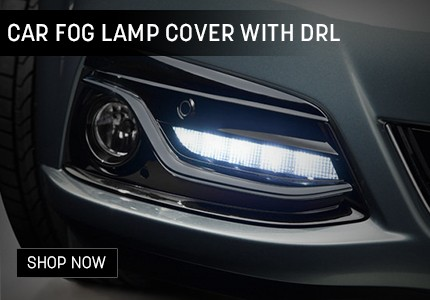 Fog Lamp with DRL Banner