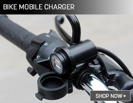 Bike mobile charger