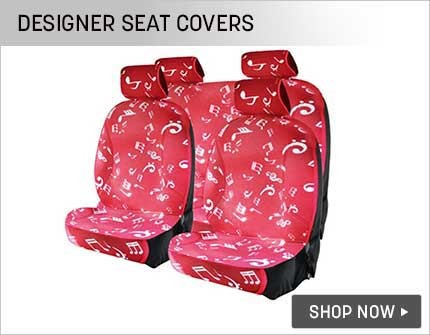 designer seat covers