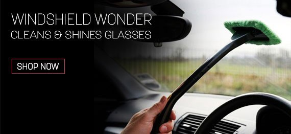 Windshield Wonder Cleans & Shines Glasses
