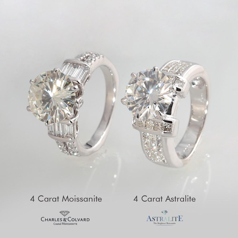 Moissanite Rings Vs Diamond